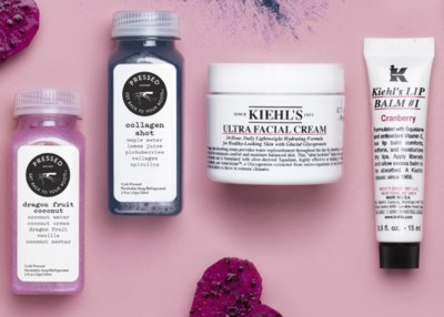 Free Samples from Kiehl's and Juicery - Facial Cream and Juice