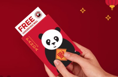 Free Chicken Egg Roll from Panda Express