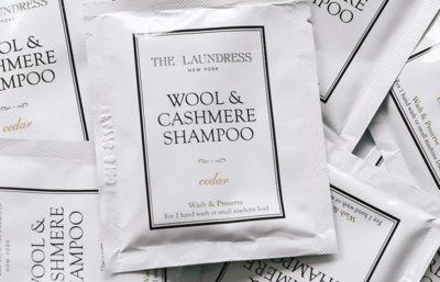 Free Samples of Laundress Signature, Wool & Cashmere Shampoo, Stain Solution, Delicate Wash