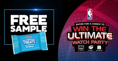 Free Rice Krispies Treats Sample AND the Chance to Win