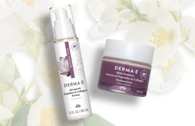 Free Sample of Derma E Advanced Peptides and Collagen Serum & Moisturizer
