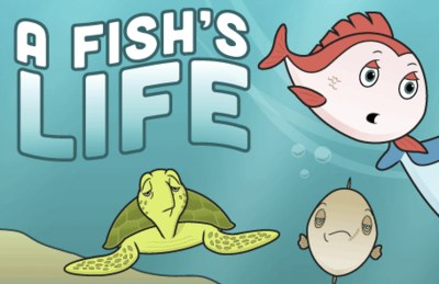 Free Stickers from A Fish's Life
