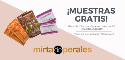 Free Mirta De Perales Hair & Skincare Sample Pack