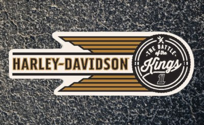 Free Sticker from Harley Davidson