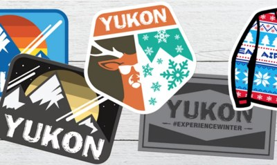 Free Stickers from Yukon Charlie