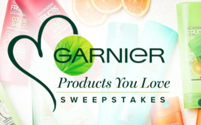 Win $300 of Garnier Products - Sweepstakes