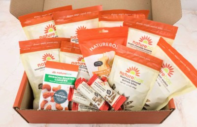 Free Nature Box Full Of Snacks