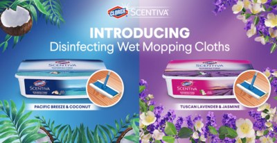 Scentiva® Disinfecting Wet Mopping Cloths