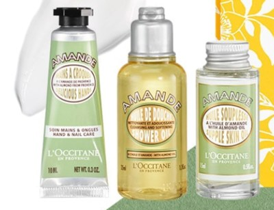 Free Beauty Gift Set at L'Occitane