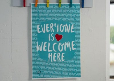 Free Poster - Everyone is Welcome Here