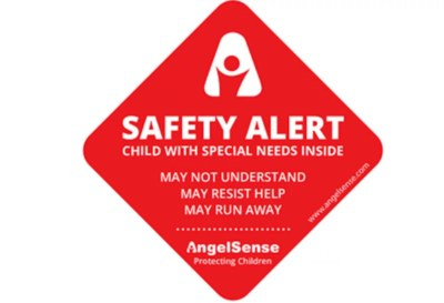 Free Safety Stickers from AngelSense