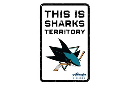 Free Sharks Territory Sign