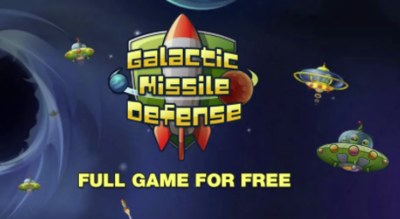 Free Game - Galactic Missile Defense