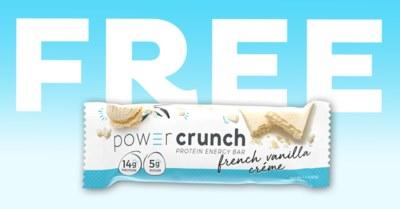 Free Power Crunch Protein Energy Bar sample at Walmart