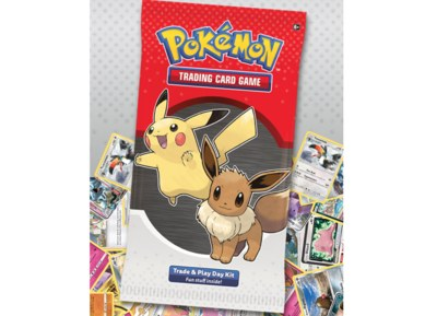 Free Pokémon Three-card Mini Pack, Activity Sheet, Coin and Guide
