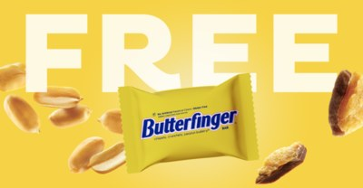 Try the BETTER Butterfinger at Sam's Club