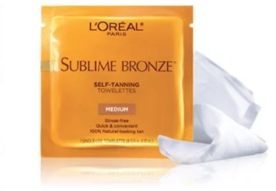 Free Self Tanning Towelettes from L'Oreal