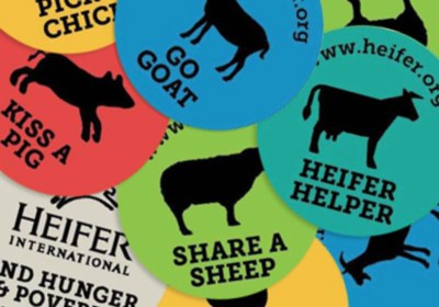 Free Heifer International Stickers
