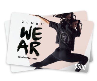 Zumba Gift Card Giveaway - Sweepstakes