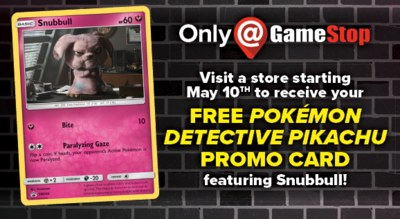 Free Pikachu Card Pokemon Detective from GameStop