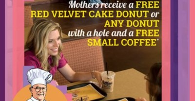 Mother's Day Special LaMar's Donuts and Coffee