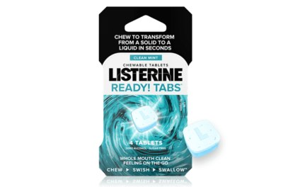 Free Sample of Listerine Ready Tabs