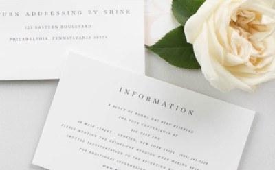 Free Wedding Invitation Sample Kit