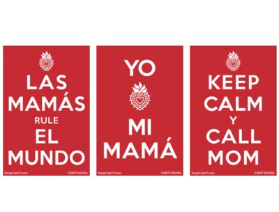 Free Stickers from Keep Calm Y Dream On