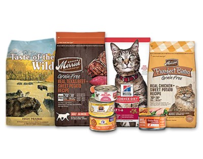 Free Bag of Dog or Cat Food from Petco