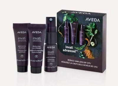 Free Sample of Aveda Invati Advanced 3-Step System