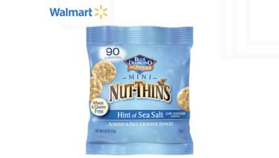 Free Blue Diamond Nut Thins at Walmart
