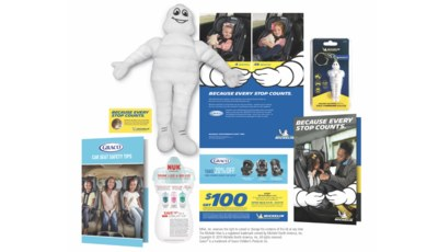 Free Michelin Welcome Baby Kit