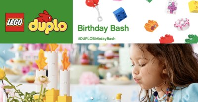 Free Lego Party for Duplo Kids