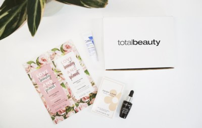 Free Total Beauty Box from Sampler