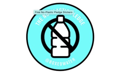 Free No-Plastic Pledge Stickers