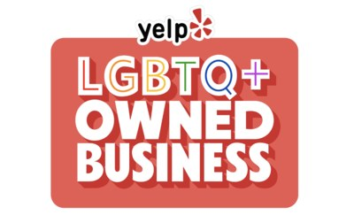 Free Yelp Pride Month Stickers