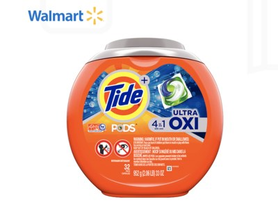Free Tide PODs from WalMart