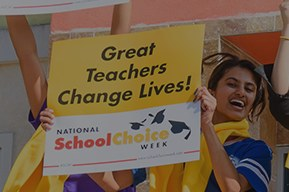 Free Fleece Scarves from National School Choice Week