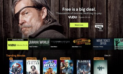 Free Movies from VUDU