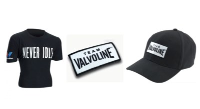 Free Clothes from Valvoline Fan Club