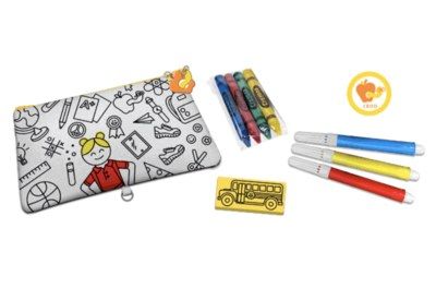 Color a Fun Pencil Pouch