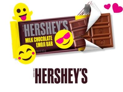 Free Hershey Milk Chocolate Emoji Bars