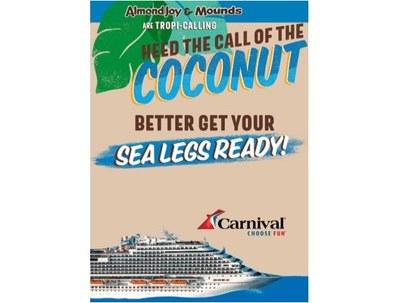 AlmondJoy & Mounds Cruise Sweepstakes