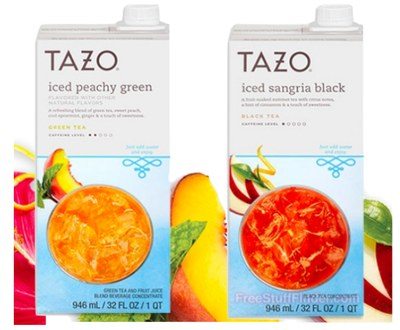 Free Tazo Concentrates Samples