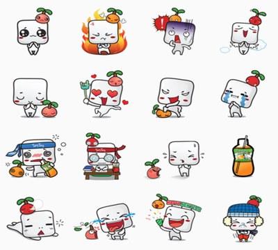 Free Mogu Mogu Stickers