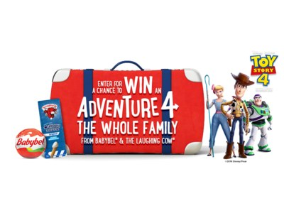 Win an Adventure for the Whole Family from Babybel & The Laughing Cow