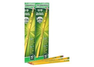 Box of #2 HB Dixon Ticonderoga Pencils for Free