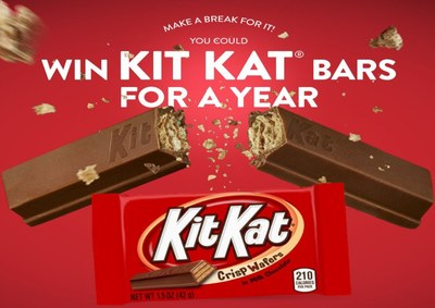 A Year's Worth of Kit Kat Bars - Sweepstakes