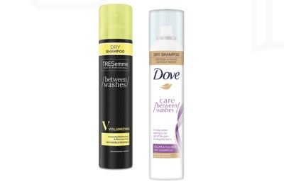 Free Sample of Dove or TRESemme Dry Shampoo