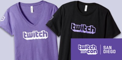Free Twitch T-Shirt for TwitchCon